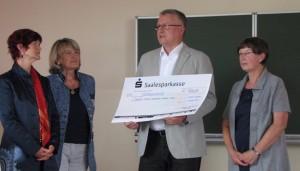 Salzmannschule Spendenübergabe